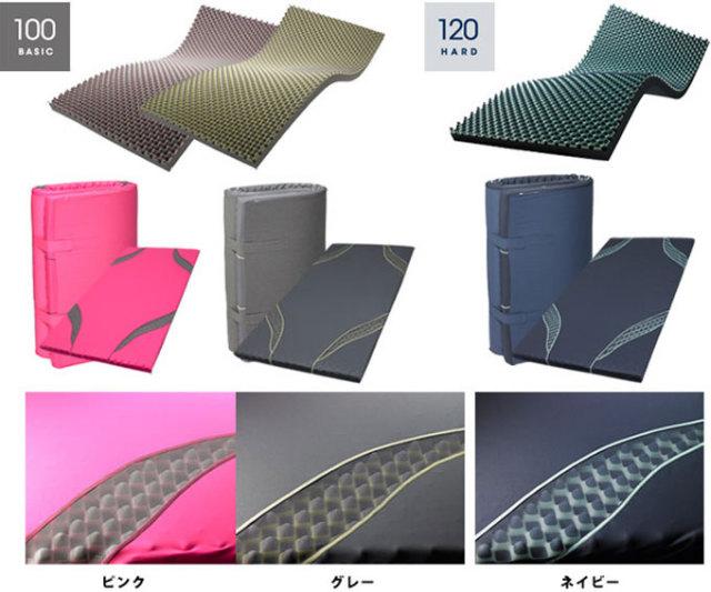 三層特殊立体構造コンディショニングマットレス【SLEEPforWIN】エアー:AIR(西川産業・日本製)